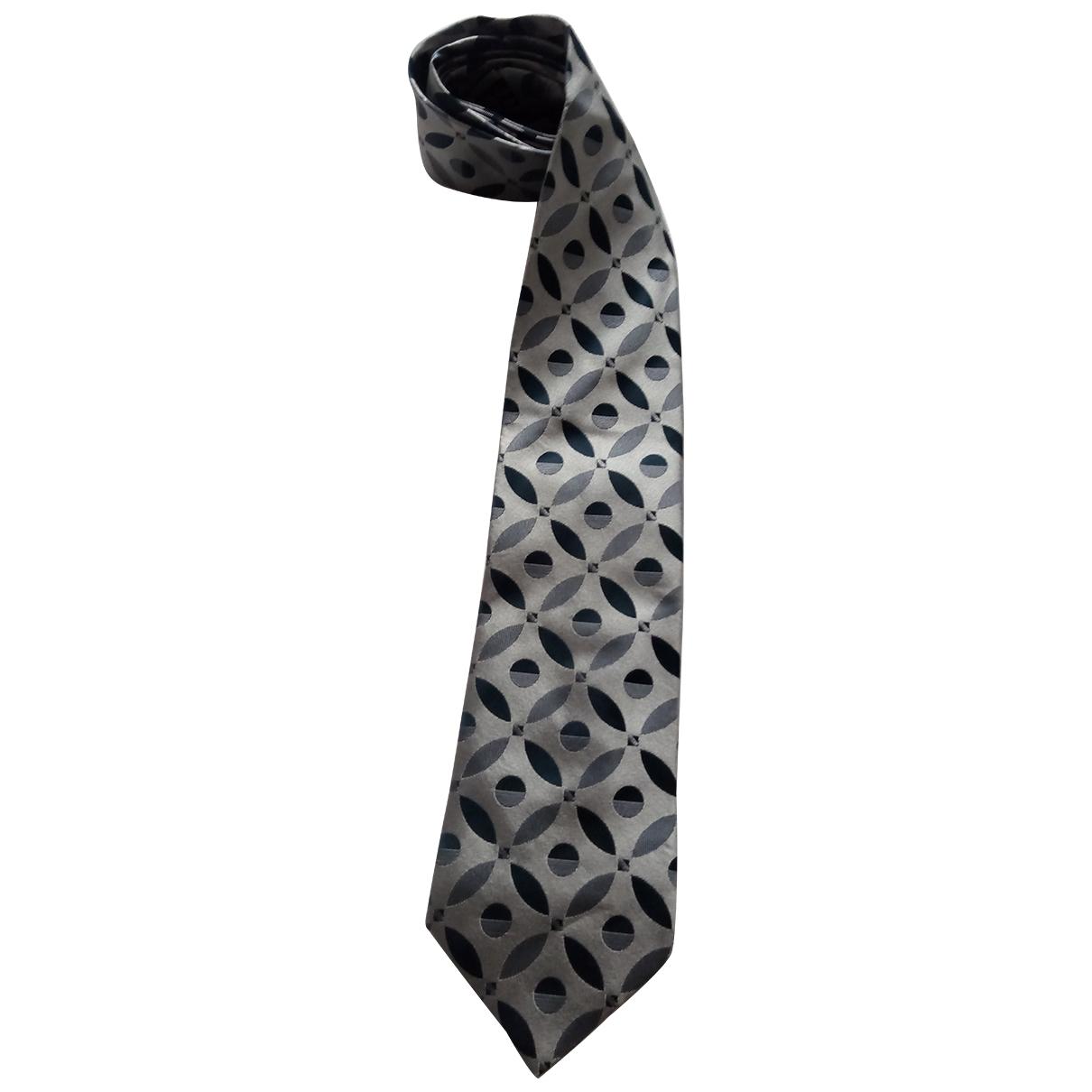 Gucci \N Grey Silk Ties for Men \N