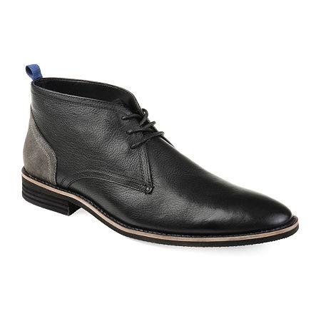 Vance Co Mens Twain Chukka Boots Block Heel, 9 Medium, Black