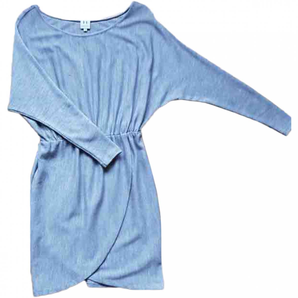 Halston Heritage \N Grey Wool dress for Women 2 0-5