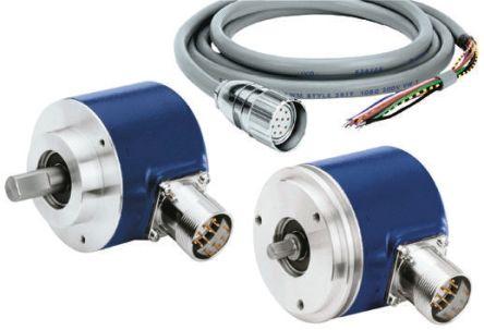 Baumer Incremental Encoder  GI356.170R031 3600 ppr 10000rpm Solid shaft 4.75 → 30 V dc
