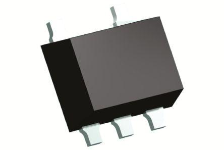 Nexperia PESD5V0L4UW,115, Quad-Element Uni-Directional TVS Diode, 30W, 5-Pin SOT-665 (20)