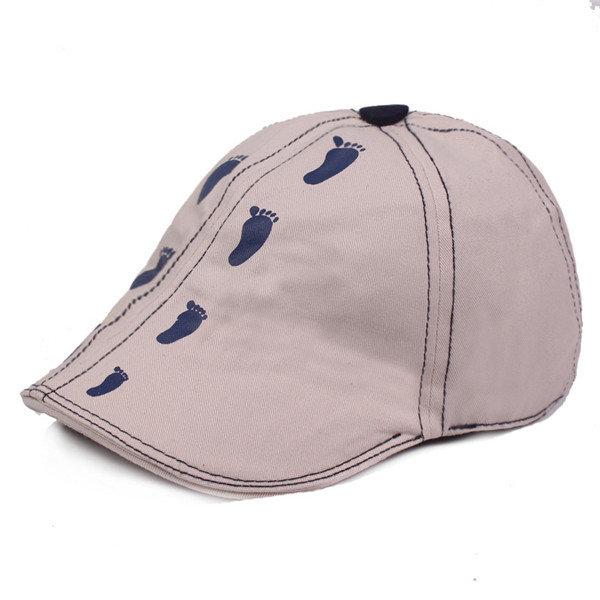 Breathable Cotton Peak Hat Adjustable Summer Thin Beret Cap For Men And Women