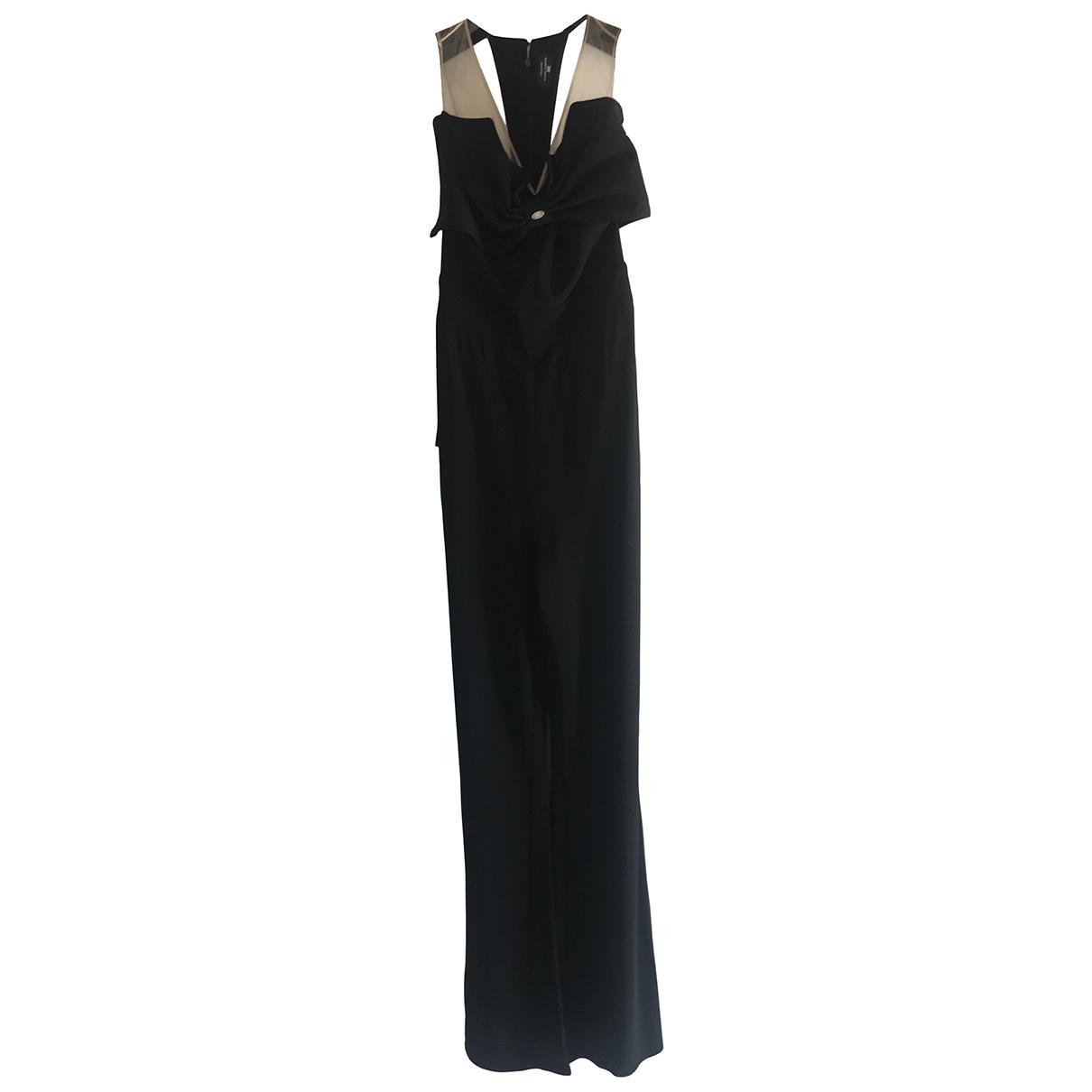 Elisabetta Franchi \N Black jumpsuit for Women 42 IT