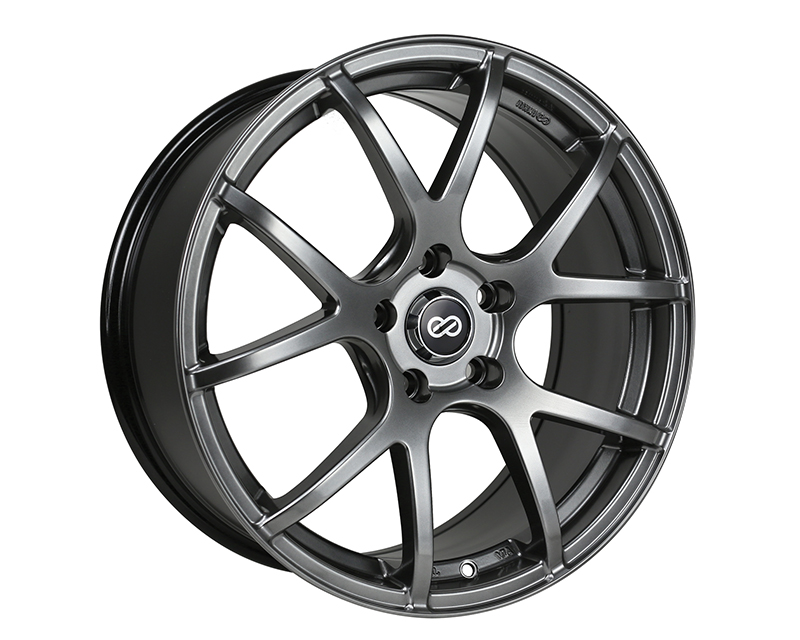 Enkei M52 Wheel Performance Series Hyper Black 17x7.5 5x100 45mm