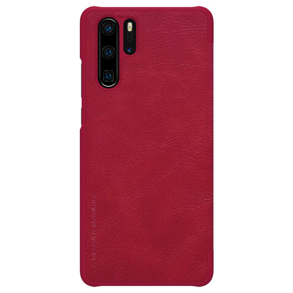 NILLKIN Protective Leather Phone Case For HUAWEI P30 Pro Smartphone - Red