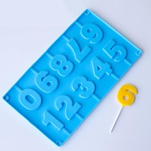 1pc Random Color Number Shaped Mold