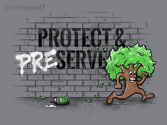 Protect & Preserve T Shirt
