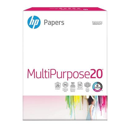 HP@ papier a usages multiples, 20 lbs, 8.5 '' x 11
