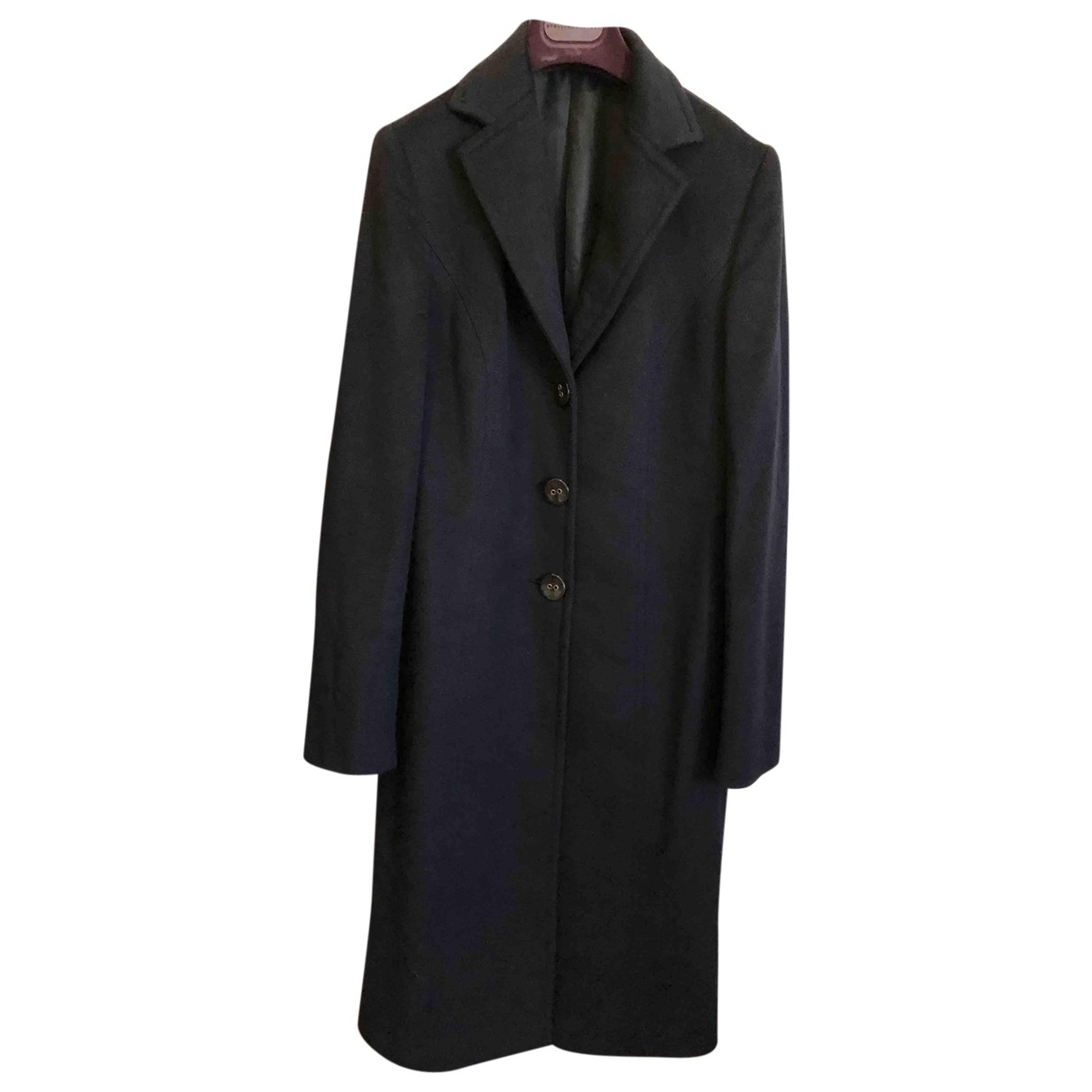 Kiton \N Navy Cashmere coat for Women 48 IT