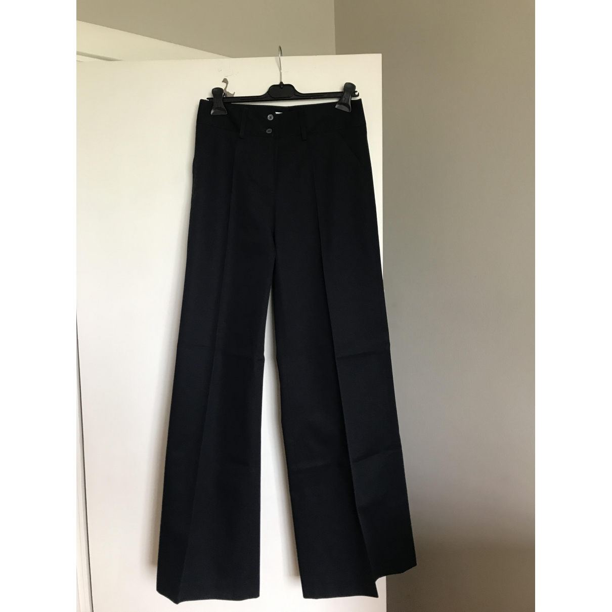 Paul & Joe \N Navy Cloth Trousers for Women 40 FR