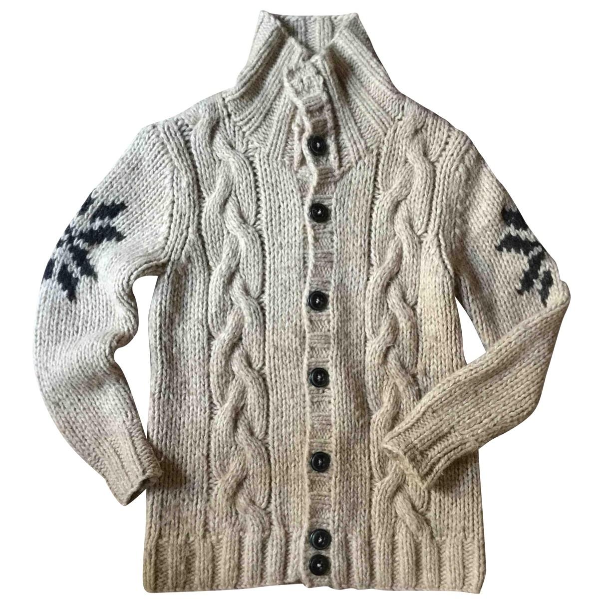 Non Signé / Unsigned \N Beige Wool Knitwear for Women L International