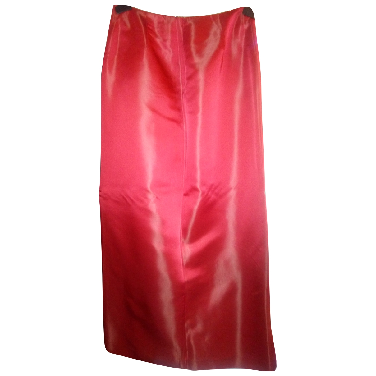 Non Signé / Unsigned \N Red skirt for Women 42 IT