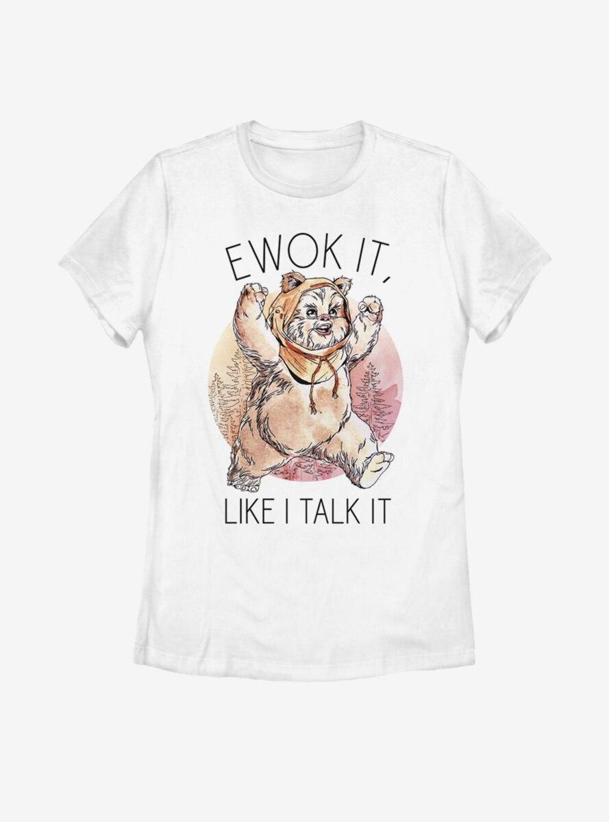 Star Wars Ewok It Womens T-Shirt