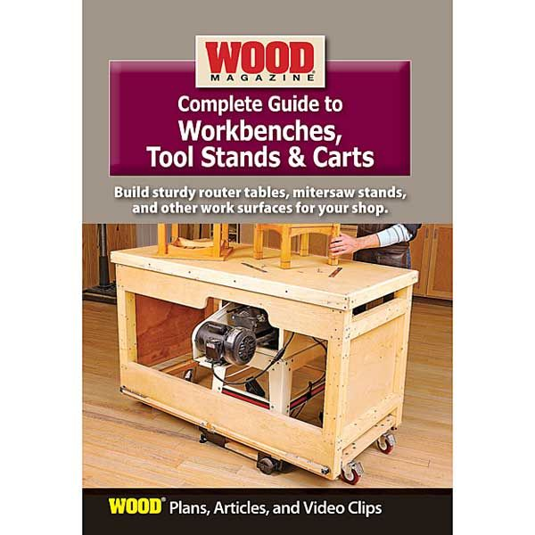 Complete Guide to Workbenches, Tool Stands & Carts DVD