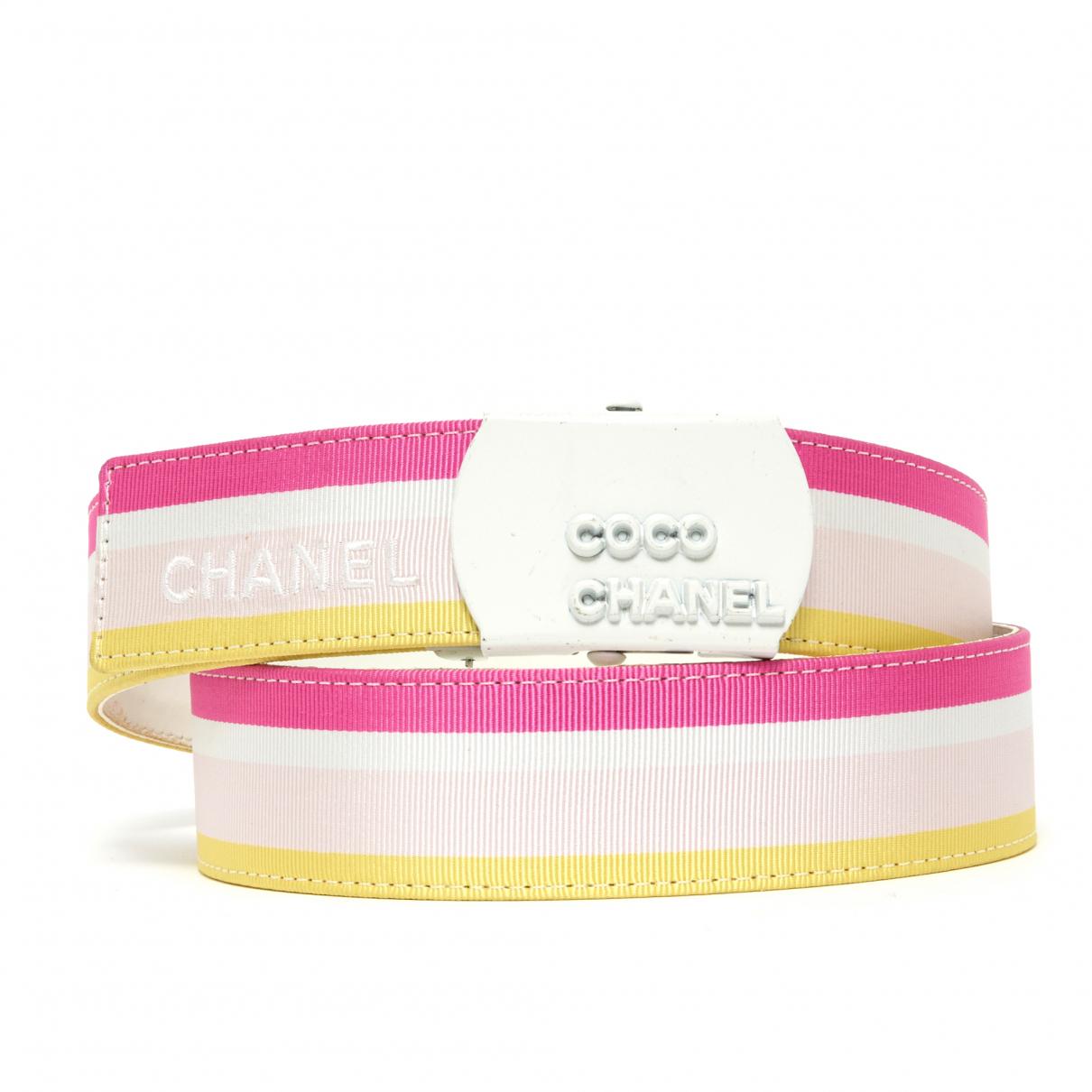 Chanel \N Leather belt for Women 80 cm