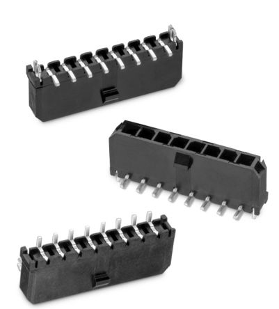 Wurth Elektronik , WR-MPC3, 6623, 6 Way, 1 Row, Vertical Header (250)