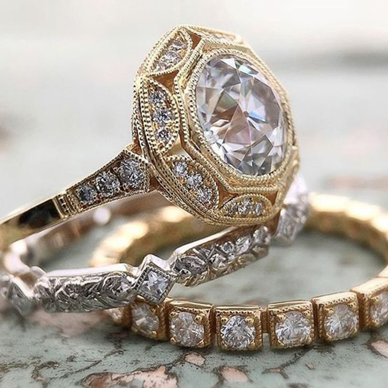 Ericdress Romantic Diamante Holiday Women's Rings