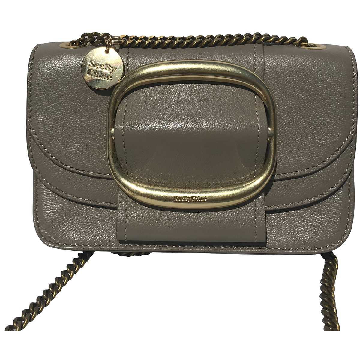 See By Chloé \N Grey Leather handbag for Women \N