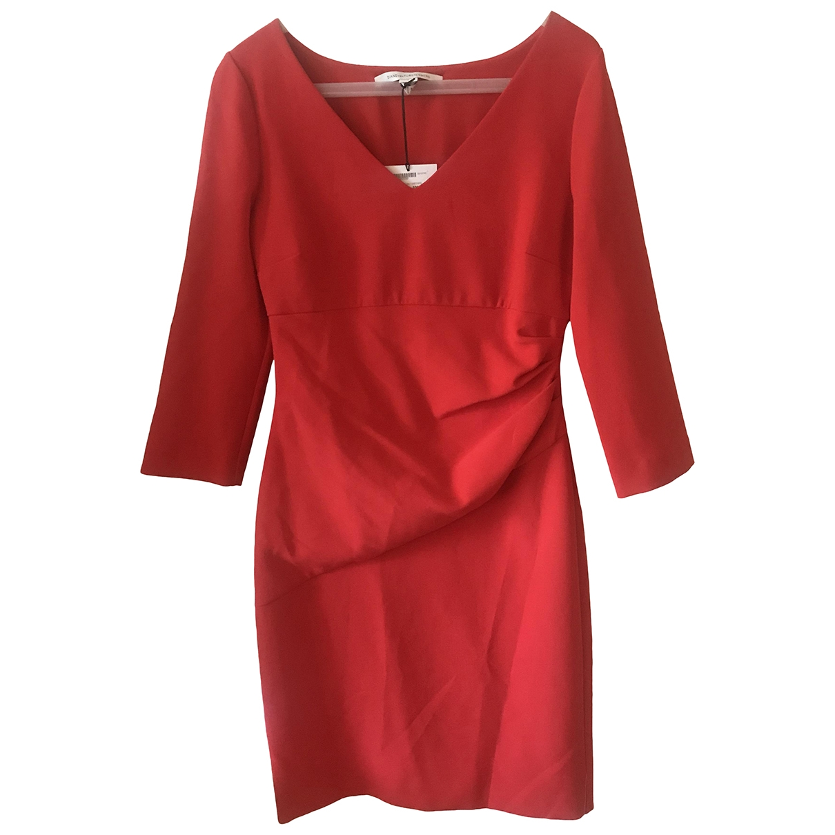 Diane Von Furstenberg \N Red dress for Women 8 US