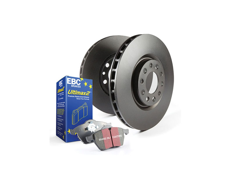 EBC Brakes S20K1196 S20K Kit Front/REAR Disc Brake Pad and Rotor Kit UD13331+RK7321+UD1334+RK7319 Ford F-250 Front 2016