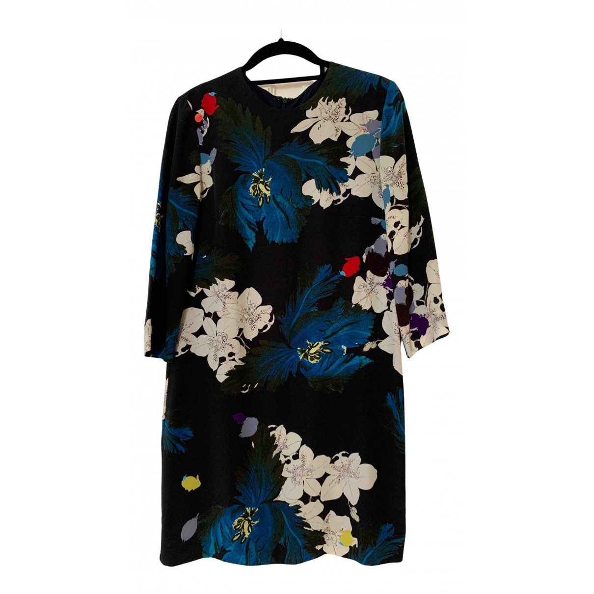 Erdem \N Multicolour Silk dress for Women 38 FR
