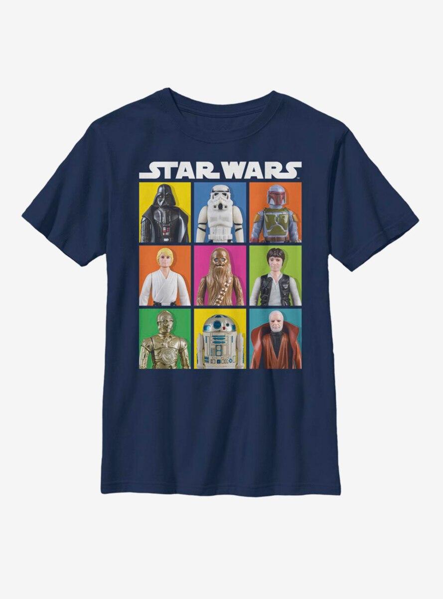 Star Wars Toy Box Youth T-Shirt