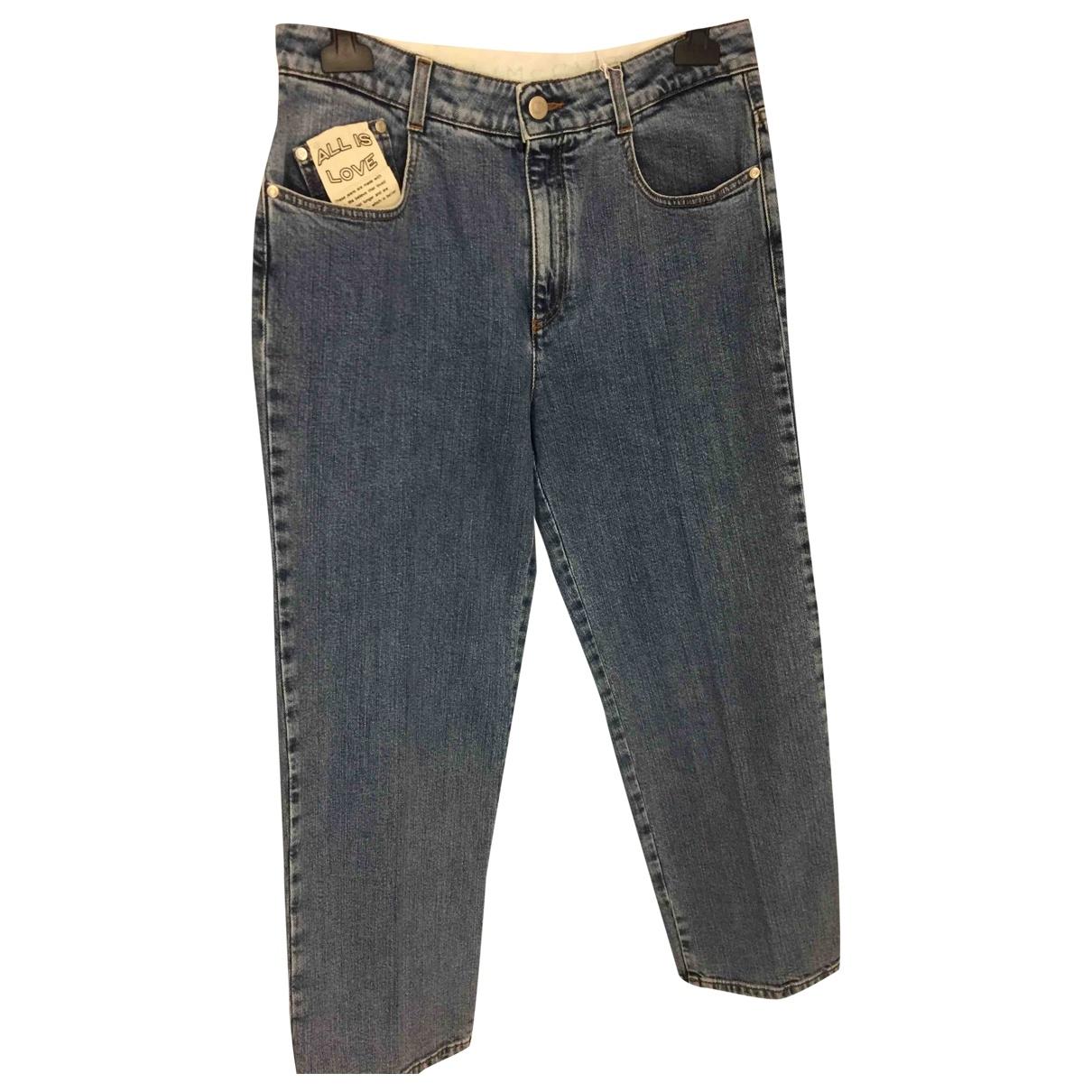 Stella Mccartney \N Blue Cotton Jeans for Women 30 US