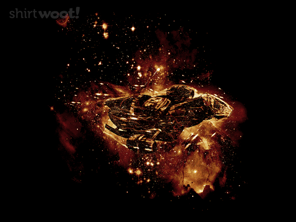 Space Fireflies T Shirt