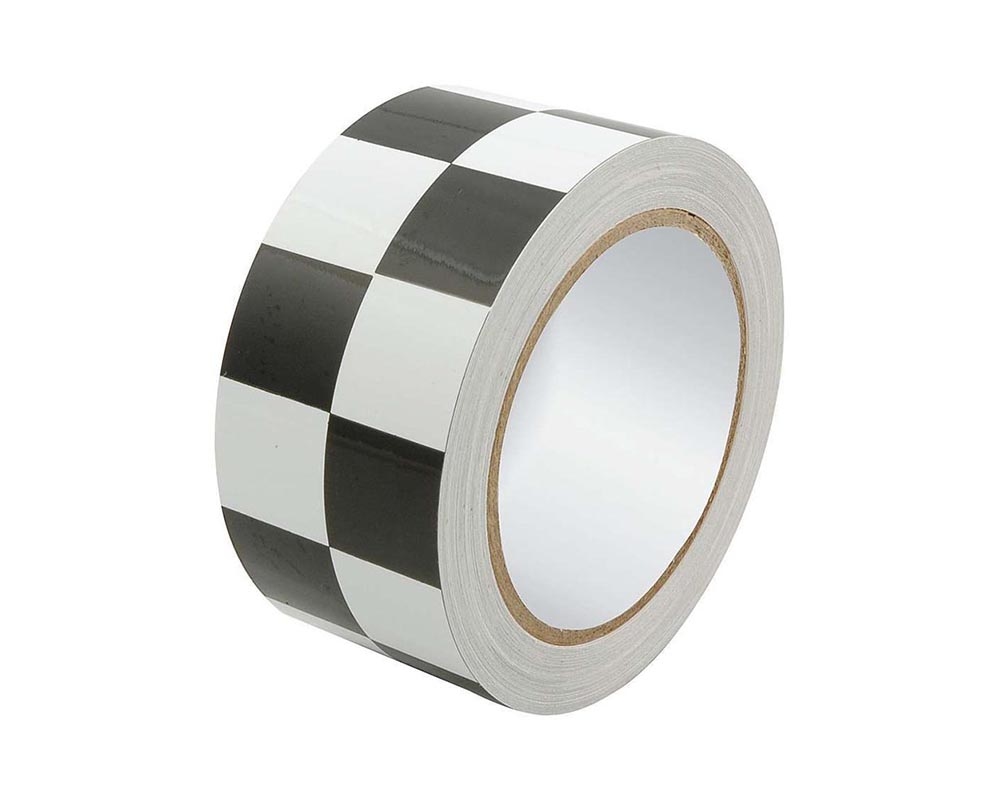 Allstar Performance ALL14149 Racers Tape 2in x 45ft Checkered Black/White ALL14149