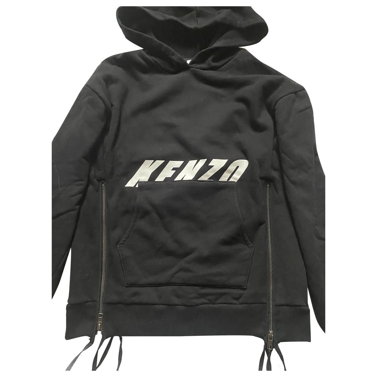Kenzo \N Black Cotton Knitwear for Women 38 FR