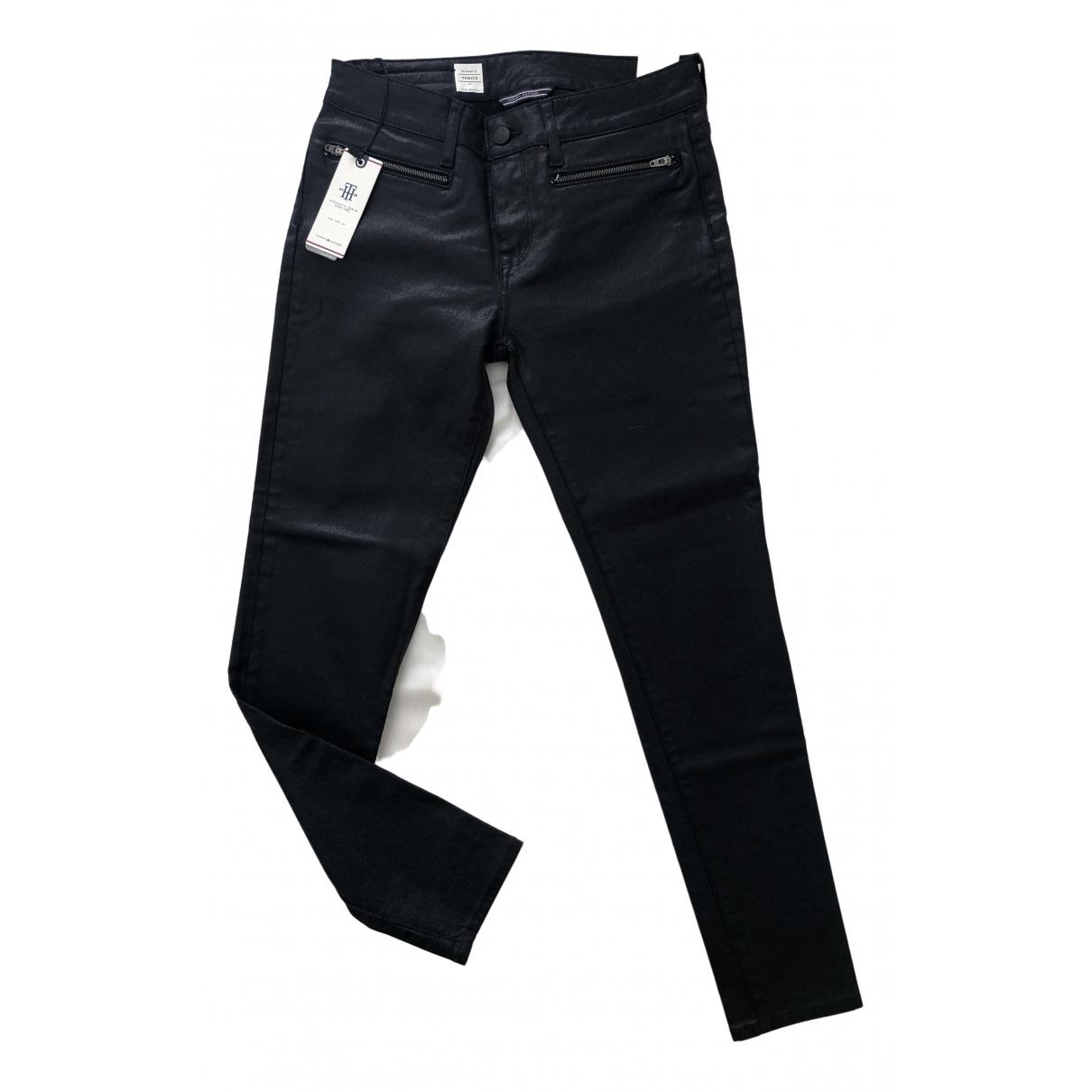 Tommy Hilfiger \N Black Cotton - elasthane Jeans for Women 27 US