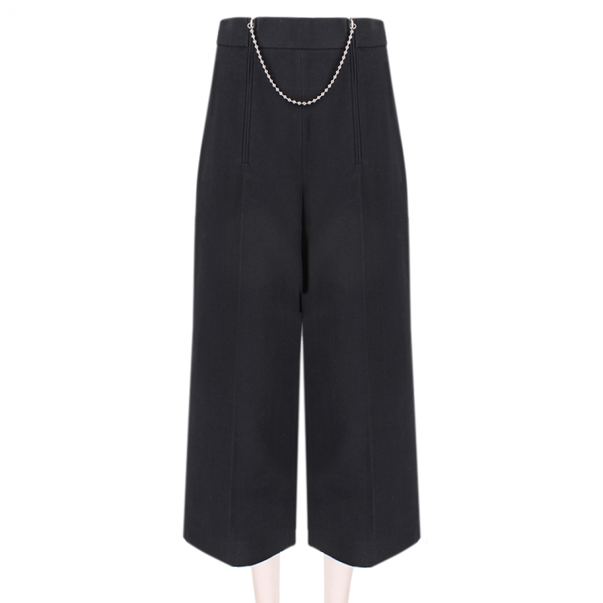 Alexander Wang \N Black Cotton Trousers for Women 4 US
