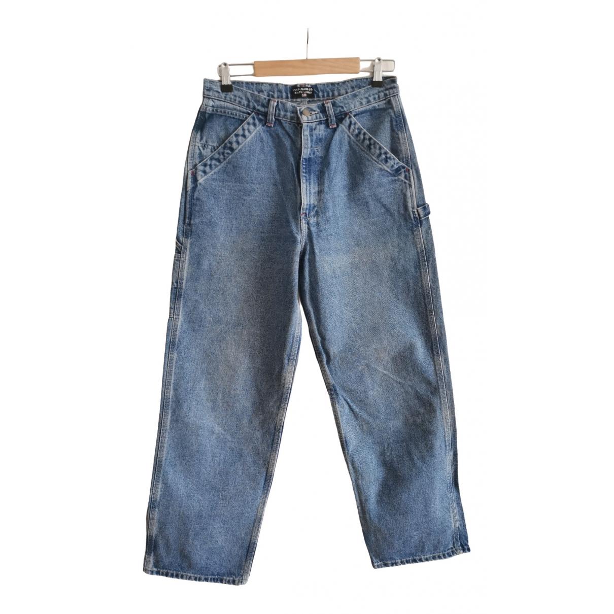 Polo Ralph Lauren \N Blue Cotton Jeans for Men 32 US
