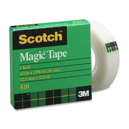3M Scotch@ magique ruban adh esif - recharge (12mm x 33m) 4515