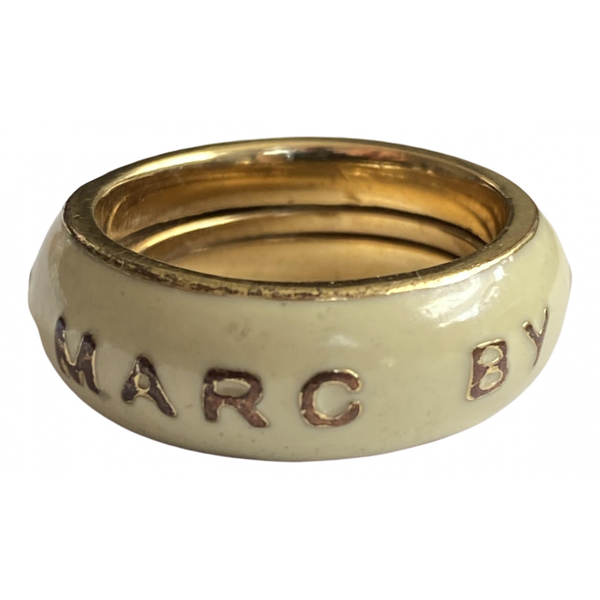 Marc By Marc Jacobs \N Beige Metal ring for Women R UK