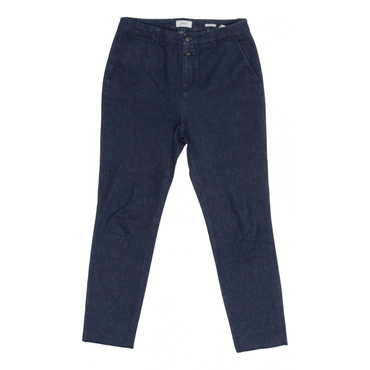 Closed \N Blue Cotton - elasthane Jeans for Women 30 US