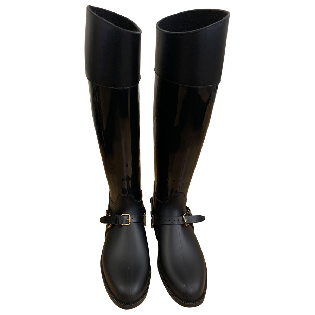 Jimmy Choo \N Black Rubber Boots for Women 35 EU