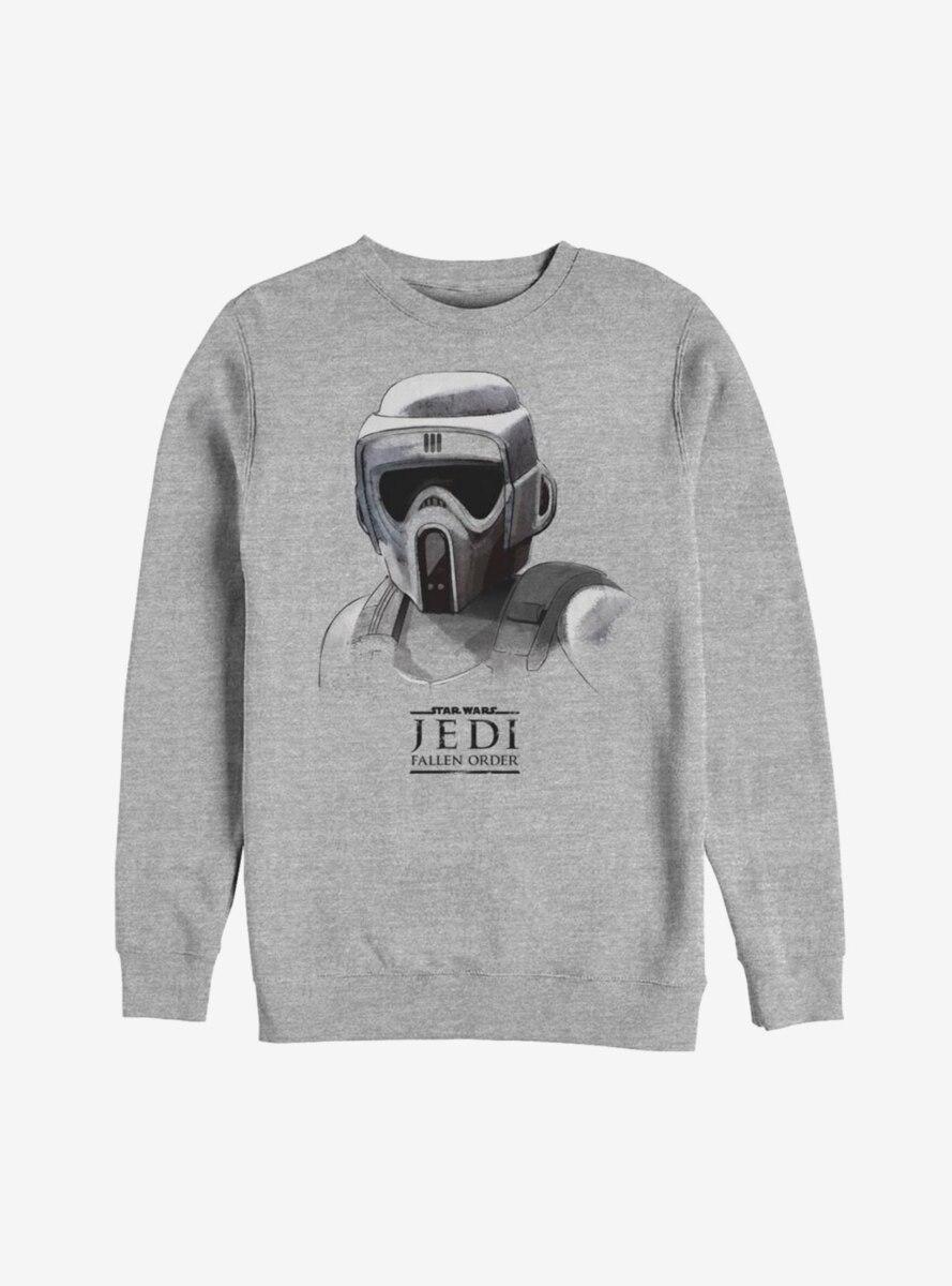 Star Wars Jedi Fallen Order Scout Trooper Mask Sweatshirt