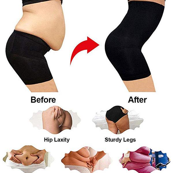 Tummy Control High Waisted Butt Lifter Steel Bone Shorts