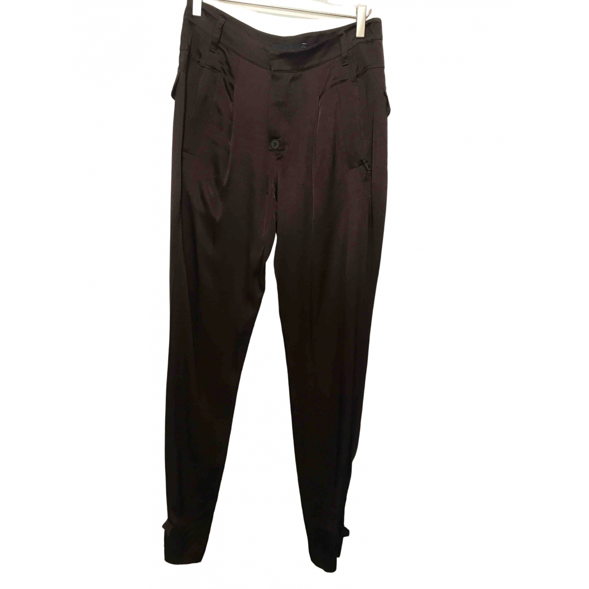 L.a.m.b \N Brown Trousers for Women M International