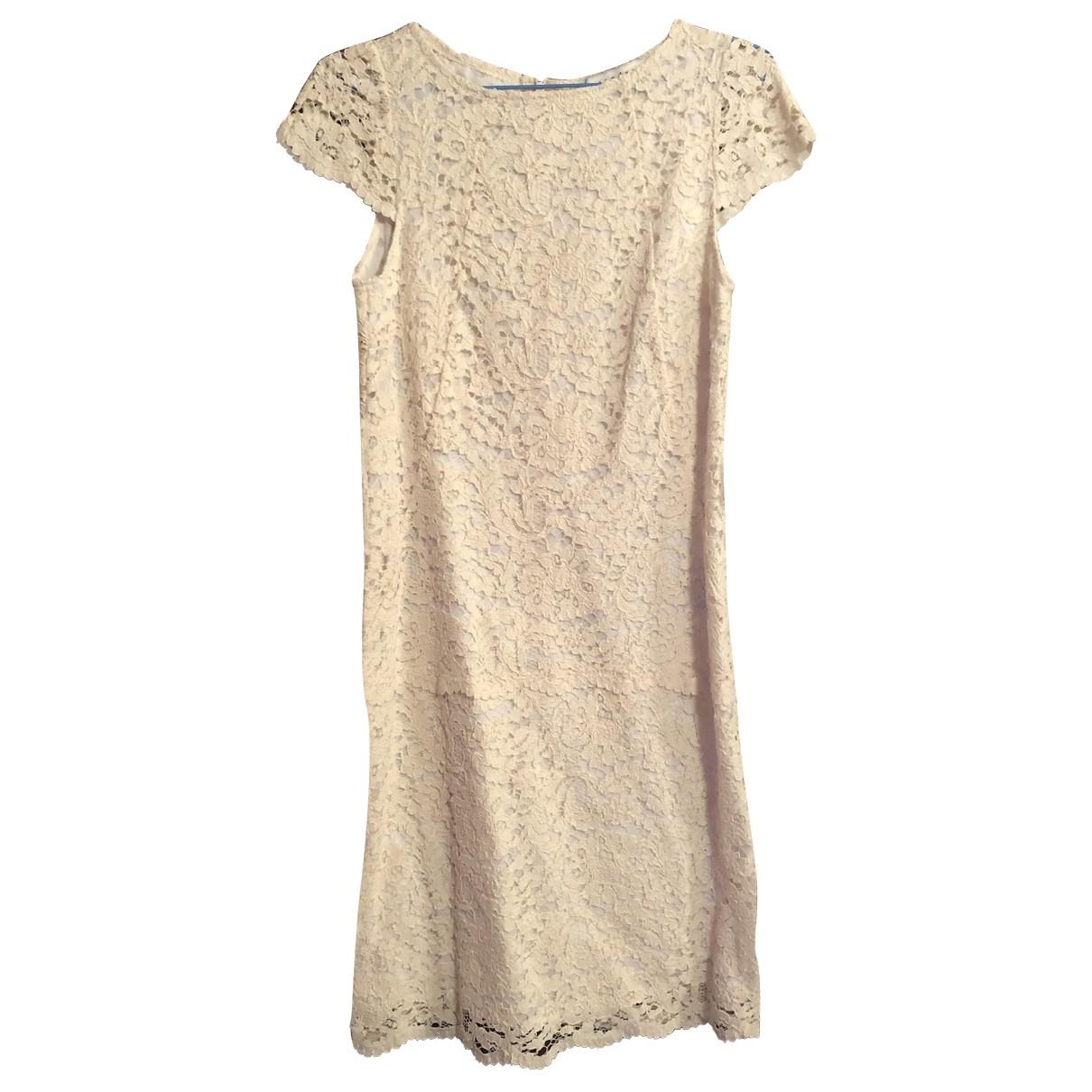 Sandro Spring Summer 2019 Ecru dress for Women 36 FR