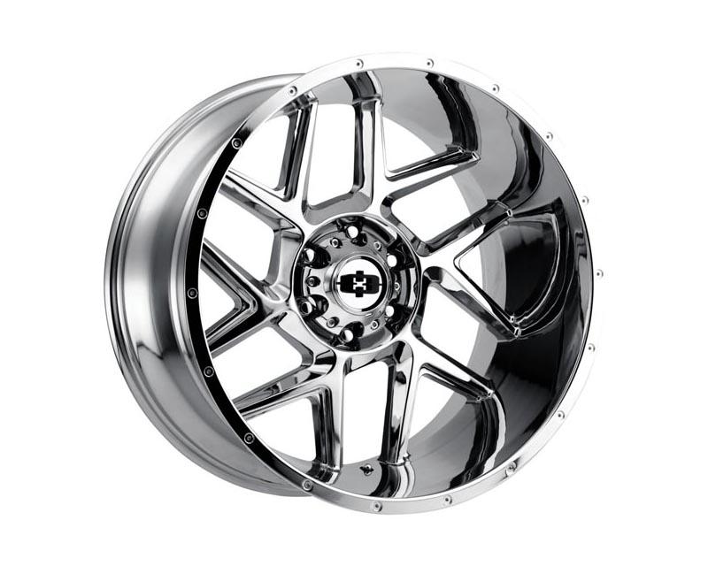 Vision Wheels 360-20285C-51 Sliver Wheel 20x12 5x139.70x51 CSCHXX Chrome