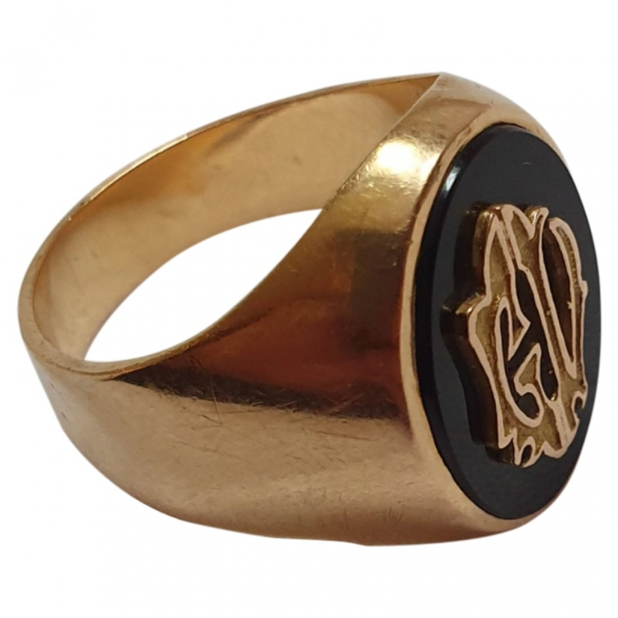 Non Signé / Unsigned Chevalières Gold Yellow gold Jewellery for Men \N