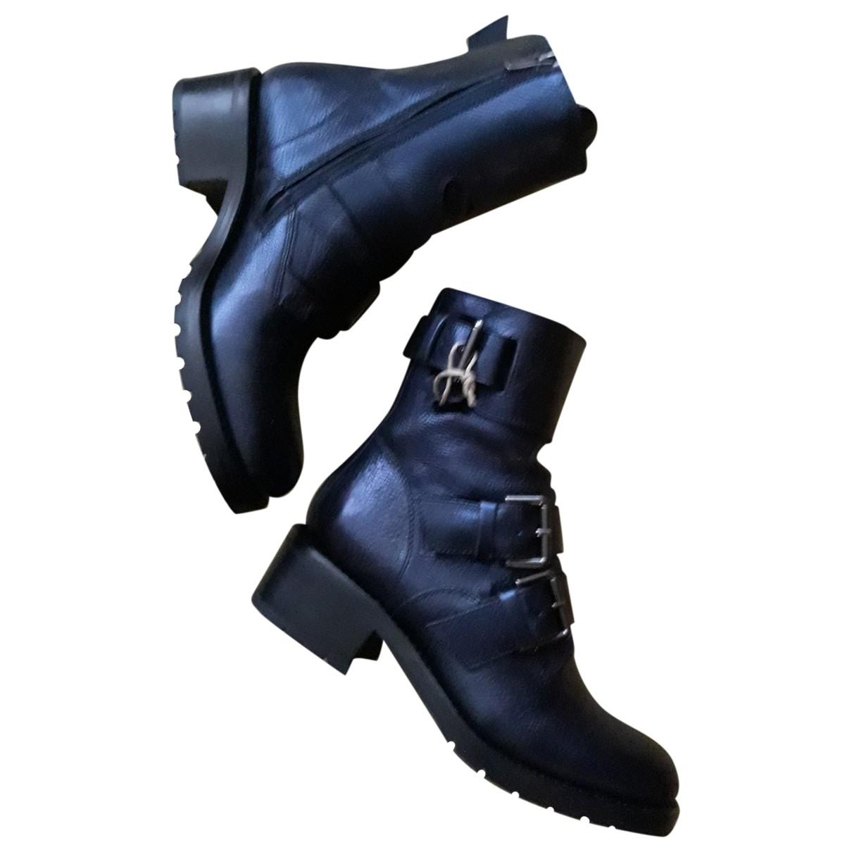 Free Lance - Boots   pour femme en cuir