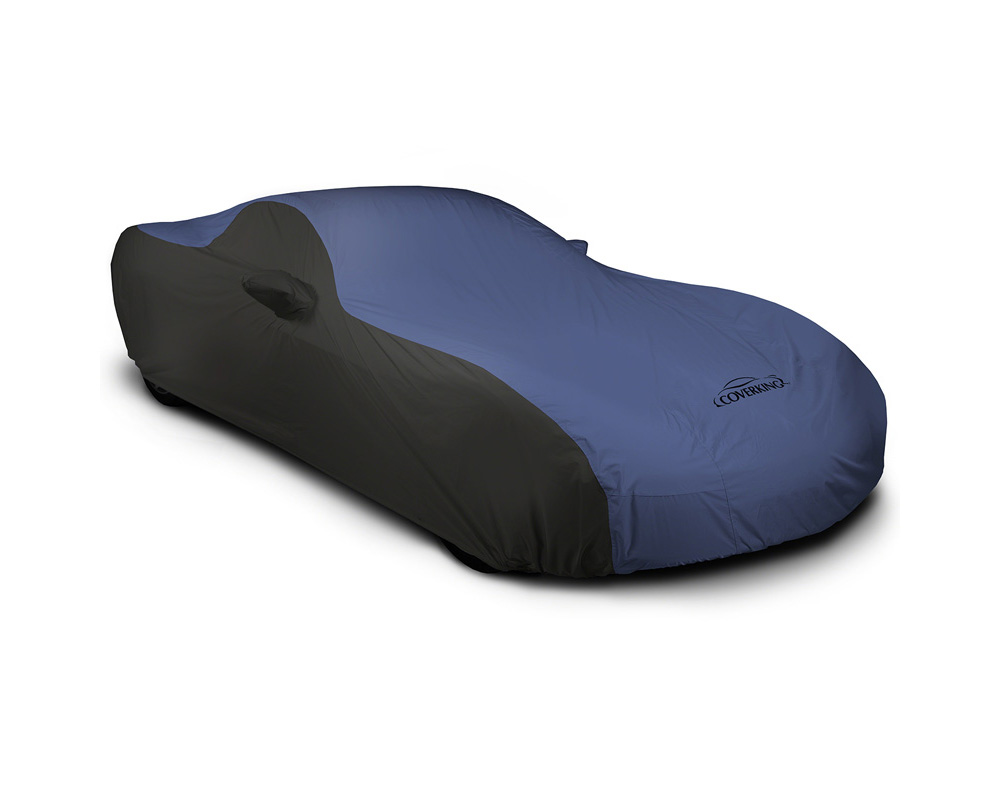 Coverking CVC5SP297TT9860 CVC5SP297 Stormproof 2-Tone Black Sides Blue Center Custom Car Cover Toyota Tacoma 16-20