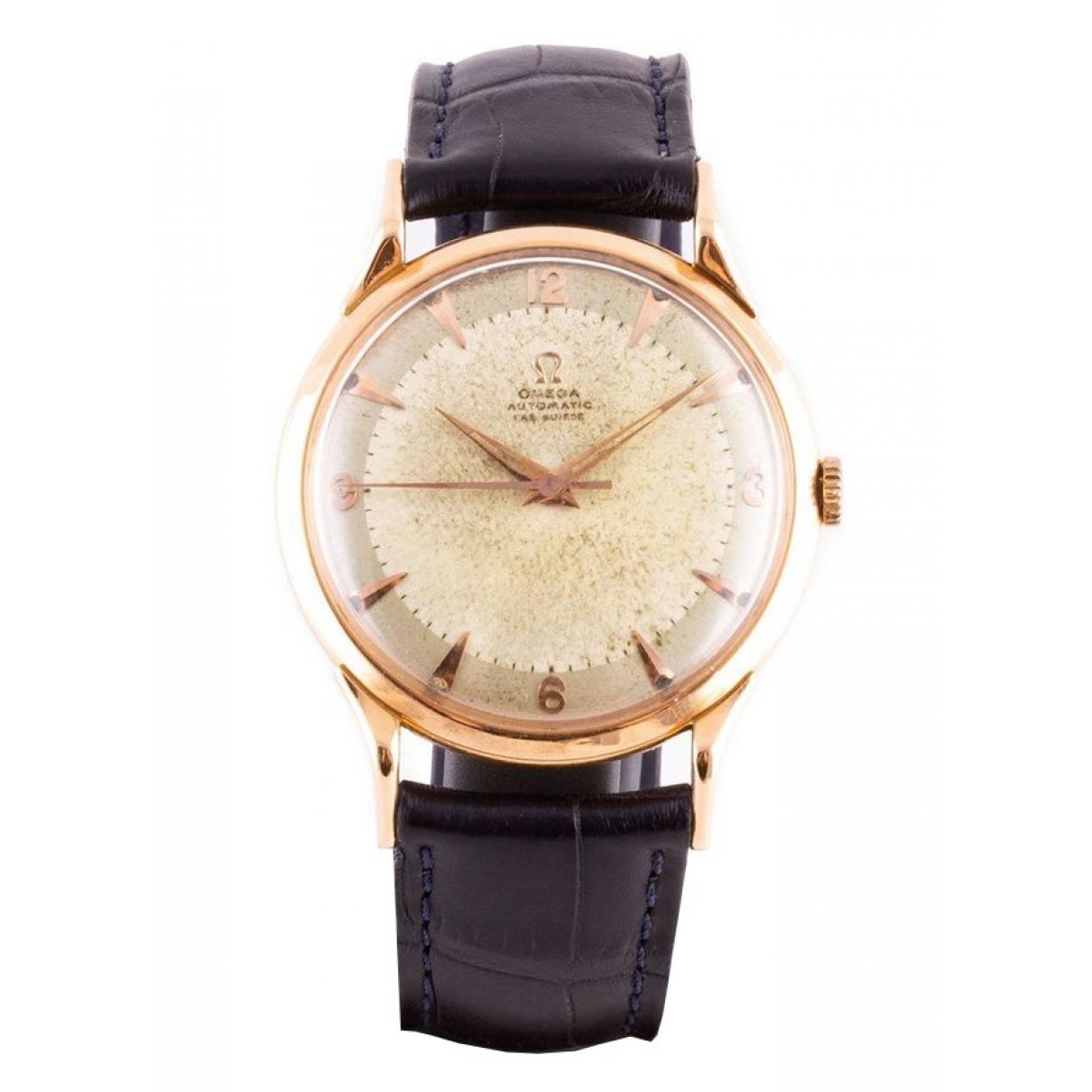 Omega \N Yellow gold watch for Women 38.5 EU