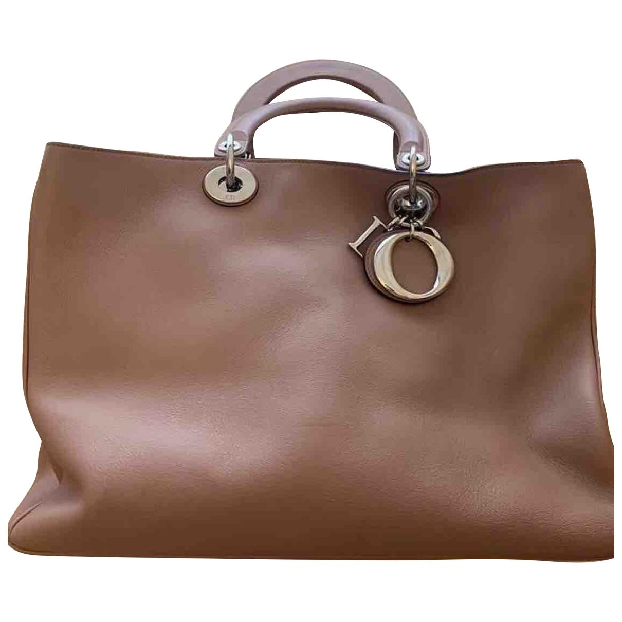 Dior Diorissimo Brown Leather handbag for Women \N