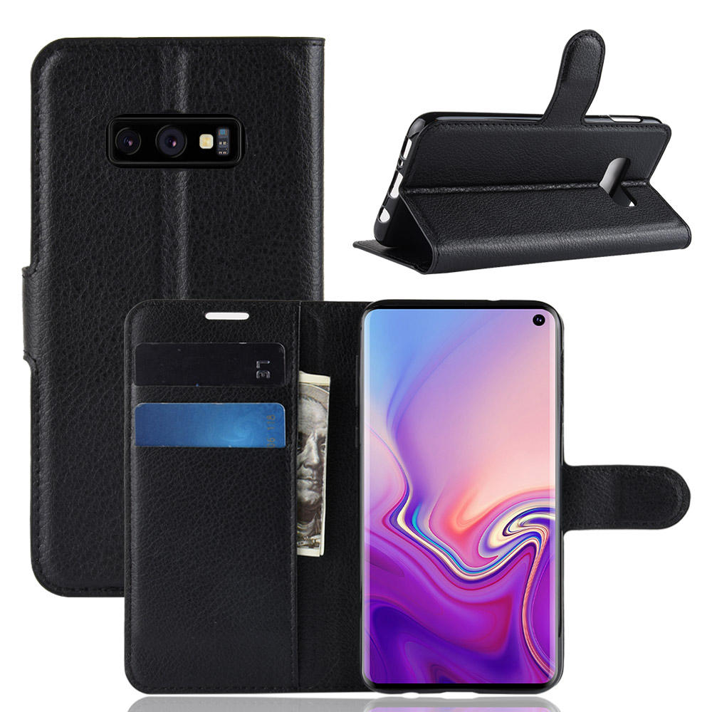 PU Leather Wallet Kickstand Flip Protective Case For Samsung Galaxy S10e 5.8 Inch