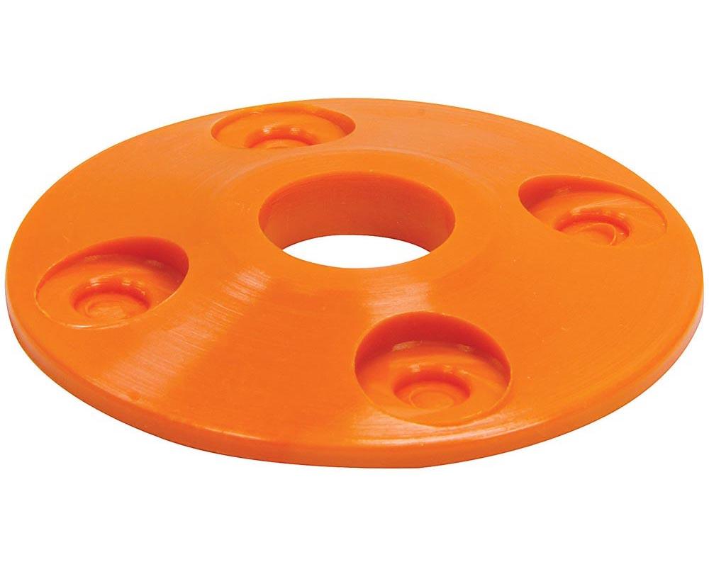Allstar Performance ALL18434 Scuff Plate Plastic Orange 4pk ALL18434