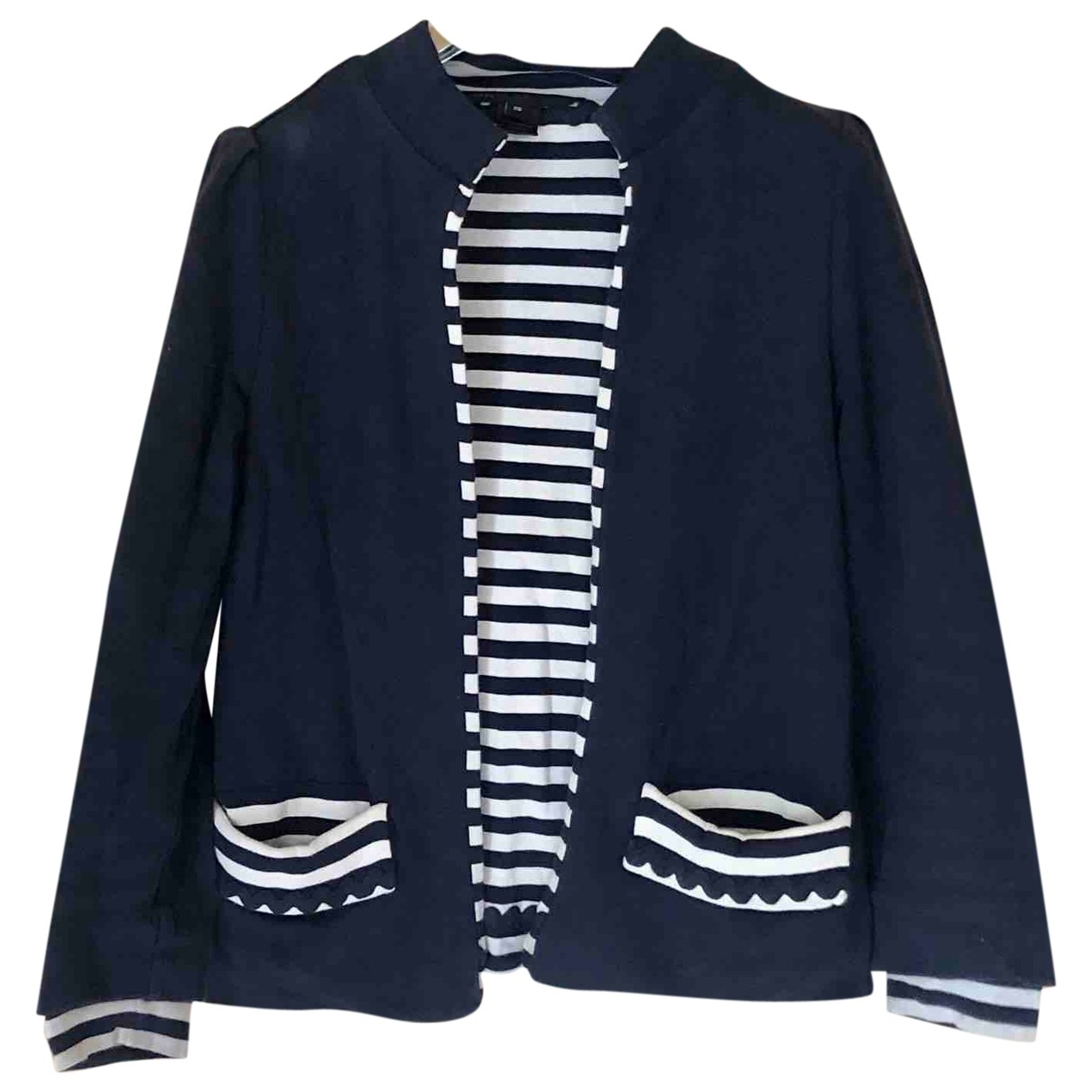 Marc By Marc Jacobs \N Navy Cotton jacket for Women XS International